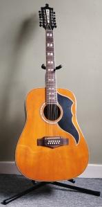 A photo of my Eko Ranger 5 12 string guitar.